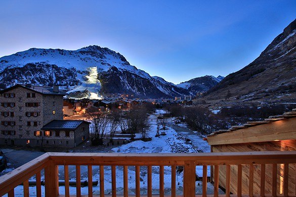 Balcony, Chalet Cime, Val d'Isere, France