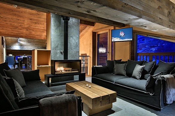Lounge, Chalet Cime, Val d'Isere, France