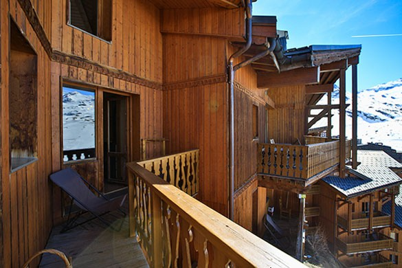 Chalet Clementine, Val Thorens, France, Balcony