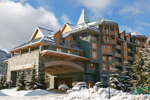 Condo Cascade Lodge, ext, Whistler