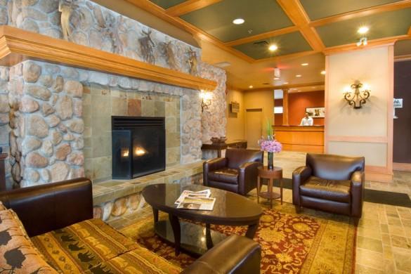 Condo Cascade Lodge, lounge, Whistler