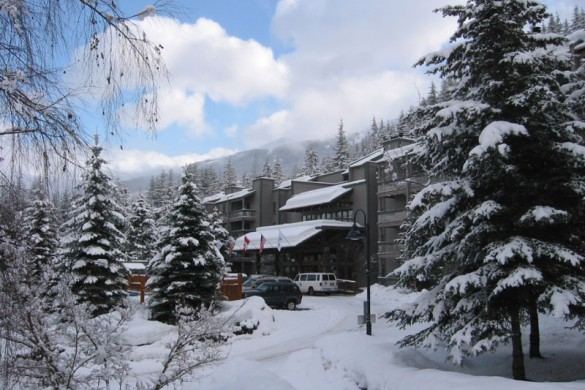 Condo Tantalus Lodge, ext, Whistler