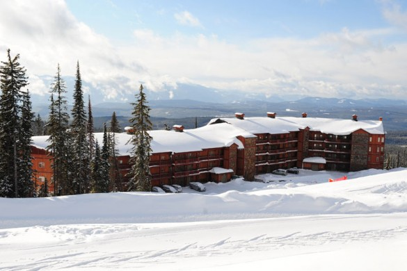 Copper Kettle Lodge, ext, Big White