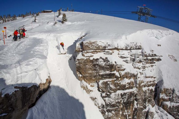 Corbets Couloir, Jackson Hole, USA