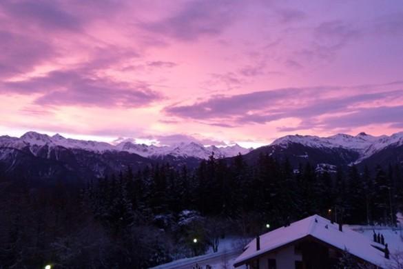 Megeve ski resort france