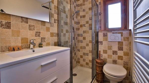 Bathroom, Chalet Crocus Blanc, La Plagne, France