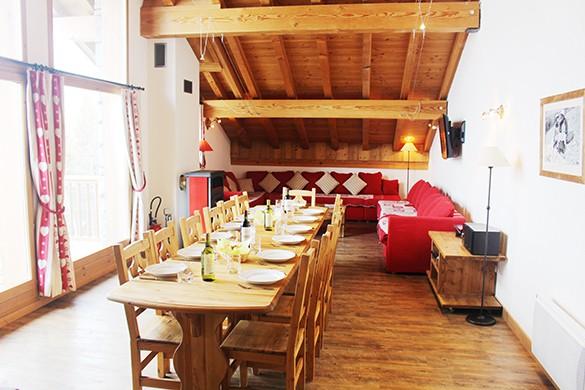 Dining Area, Chalet Daniel, La Rosiere, France