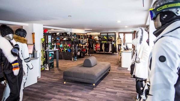 Daria-I Nor Hotel, Alpe D'Huez - Ski Shop