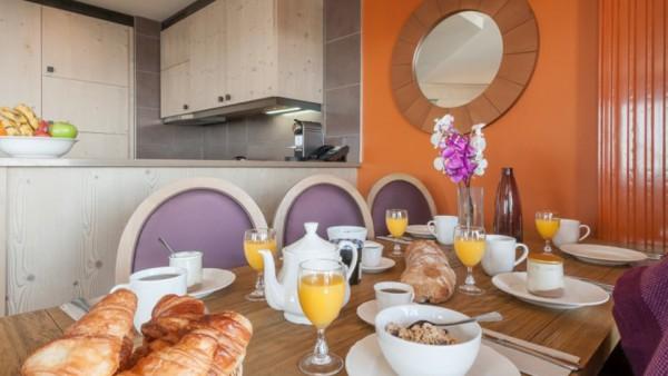 Dining Table, Residence L'Amara, Avoriaz, France