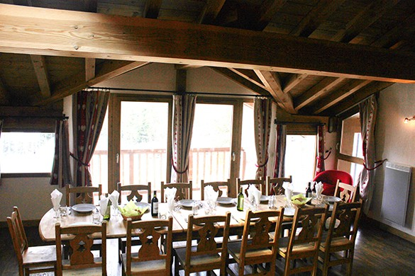 Dining Area, Chalet Tomasz, La Rosiere, France