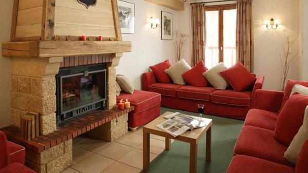 Chalet Dominique lounge, Tignes