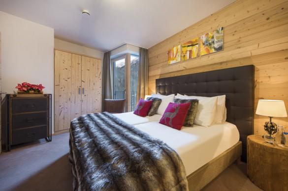 Bedroom, Chalet Cirrus, St. Anton, Austria