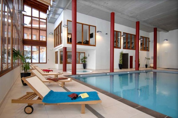 Edenarc apartments, swimming pool, Les Arcs