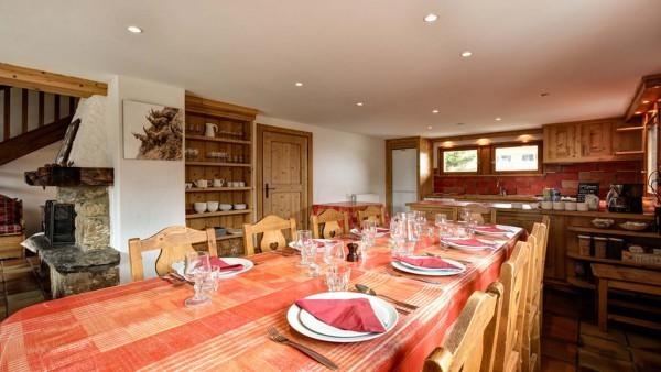 Dining Area, Chalet Elodie - ski chalet in Meribel, France