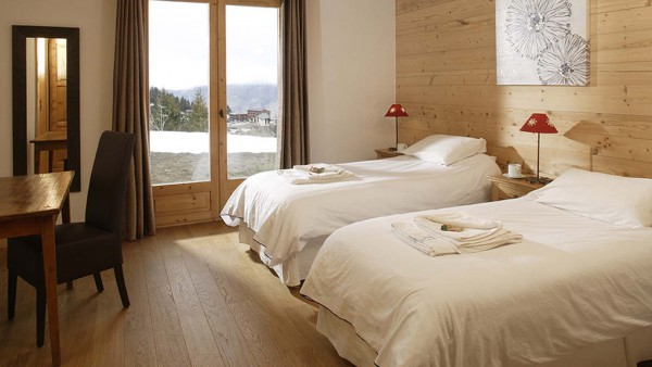 Chalet Estrella bedroom