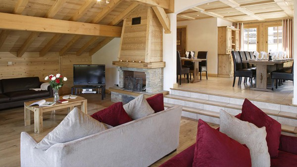 Chalet Estrella, Interior, Courchevel, France