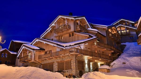 Exterior - Chalet Campanula - Ski Chalet in La Plagne, France