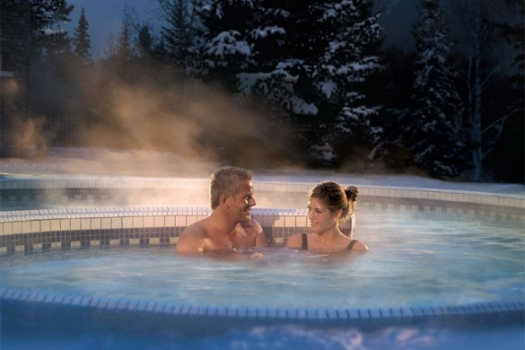 Fairmount Banff Springs, hot tub, Banff & Lake Louise
