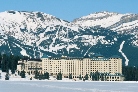 Fairmont Chateau, ext, Lake Louise