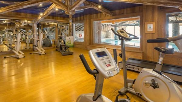 Fitness Area, Les Alpages de Reberty, Les Menuires, France