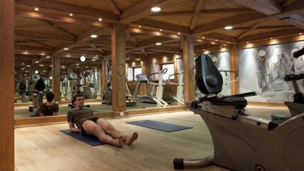 Fitness Area, Residence Les Hauts Bois, La Plagne, France