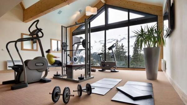 Fitness Area, Residence Les Terraces d'Eos, Flaine, France