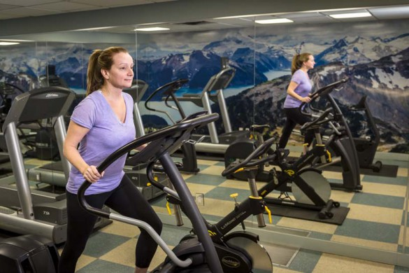 Crystal Lodge, Whistler, Canada, Fitness Area