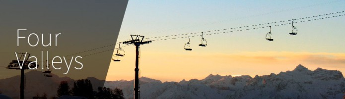 Four Valleys Ski Area - Switzerland