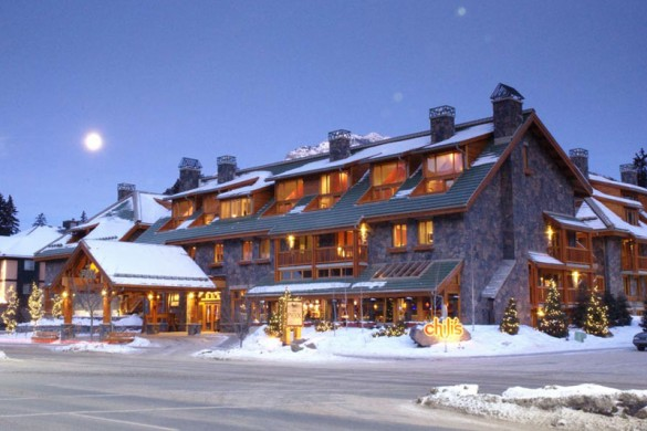 Fox Hotel & Suites, ext, Banff & Lake Louise