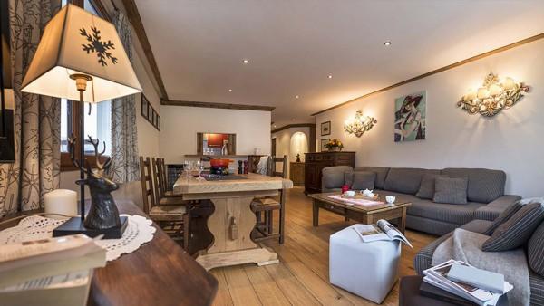 Lounge, Chalet Corelli, Courchevel, France
