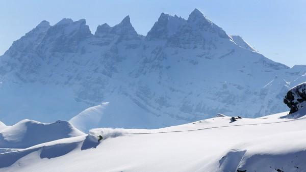 Avoriaz, France, Backcountry Off-Piste Powder Skiing