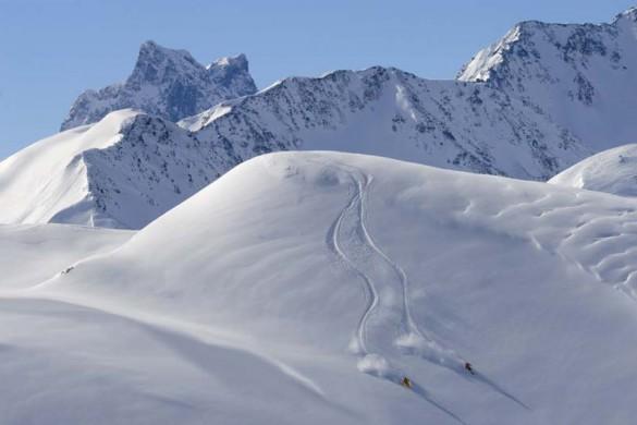 Freeskiing, St Anton am Arlberg, Austria
