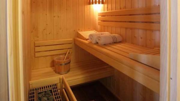 Sauna in Chalet Giorgio, Tignes, France