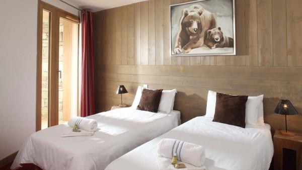 Twin Room In Chalet Giorgio, Tignes, France