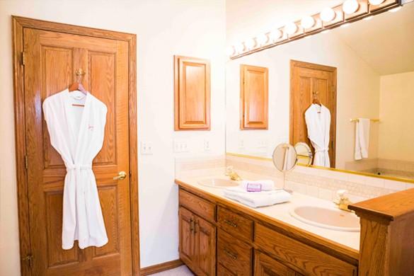 Bathroom in Chalet Gleneagles, Vail