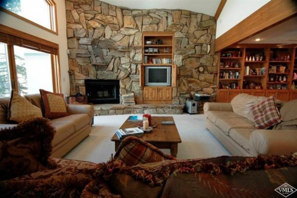 Living area in Chalet Gleneagles, Vail, Ski Chalet in Vail, USA