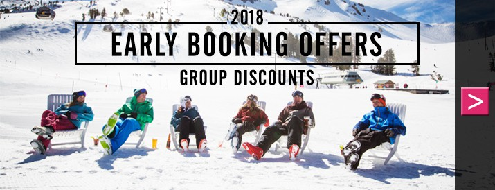 Early Booking Offer - Groups