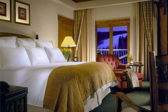 Guest room at the Vail Marriott Mountain Resort - Ski Hotel in Vail, USA