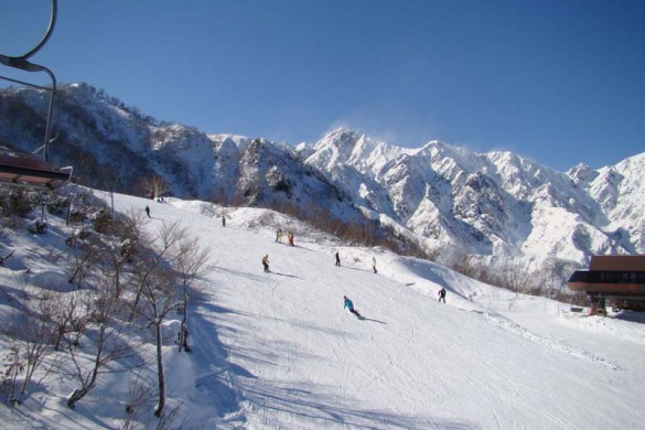 Hakuba Goryu Japan Ski Area