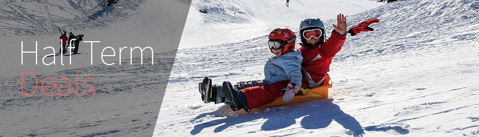 Half Term Ski Holidays and Deals