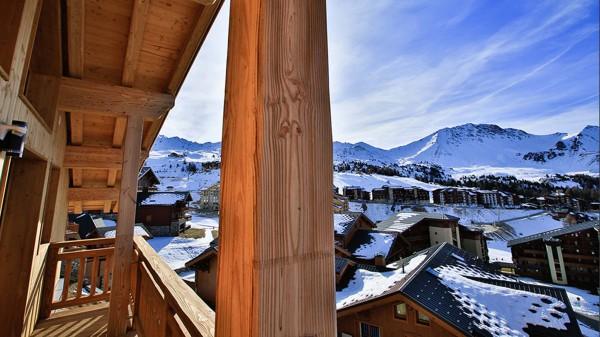 Balcony - Chalet Hepatica - Ski Chalet in La Plagne, France