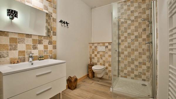 Bathroom - Chalet Hepatica - Ski Chalet in La Plagne, France