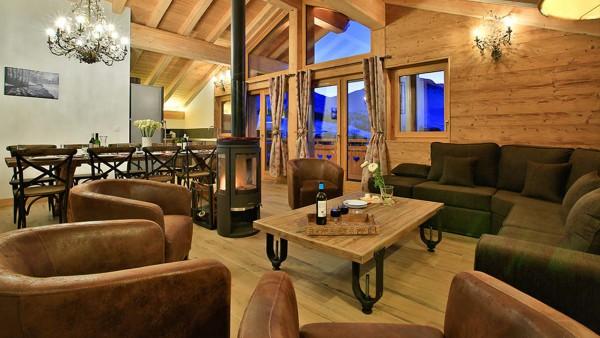 Lounge - Chalet Hepatica - Ski Chalet in La Plagne, France