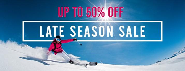Late Season Sale
