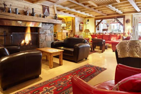 Hotel Chalet Mounier, lounge, Les Deux Alpes