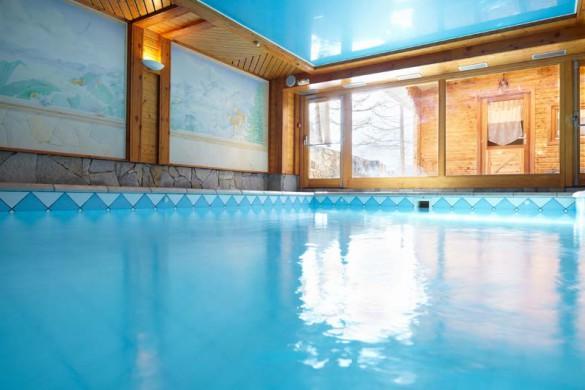 Hotel Chalet Mounier, swimming pool, Les Deux Alpes