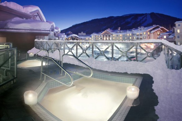 Hotel Delta Sun Peaks Resort, hot tub, Sun Peaks