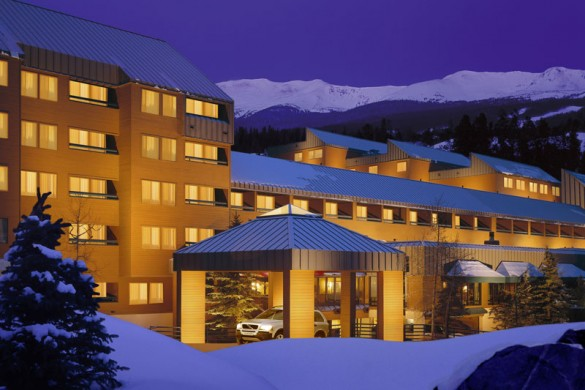 Hotel Great Divide Lodge ext, Breckenridge