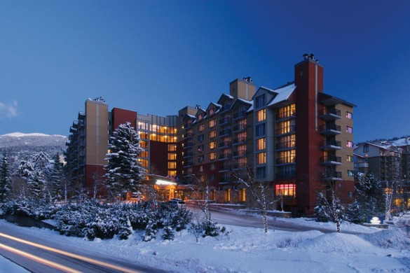 Exterior of Hilton Whistler Resort and Spa - Whistler, Canada