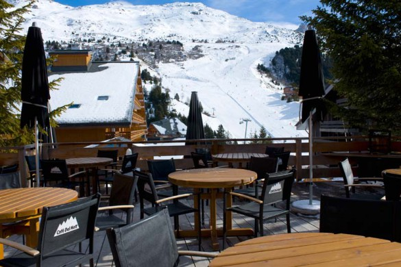 Hotels close to piste